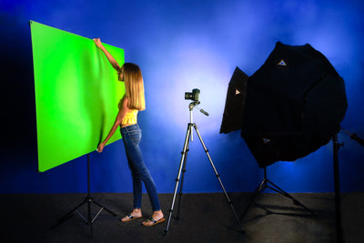 Explorer 90 Professional Green Screen + Valera Background Gallery Bundle