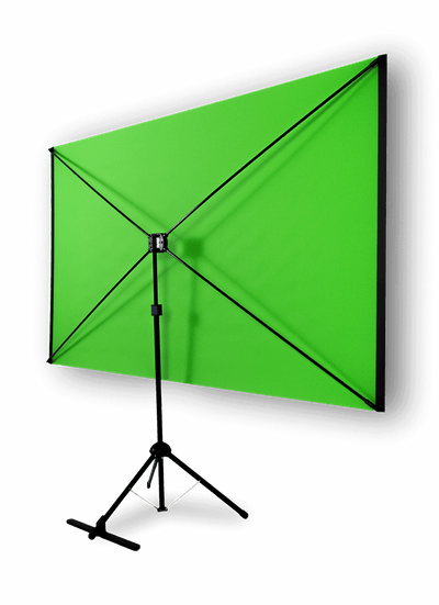 Explorer 70 Professional Green Screen + Valera Background Gallery Bundle