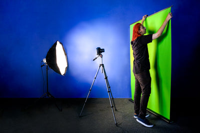 Creator 95 Professional Green Screen + Valera Background Gallery Bundle