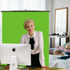 Creator 95 Professional Green Screen Bundle For Zoom Meetings