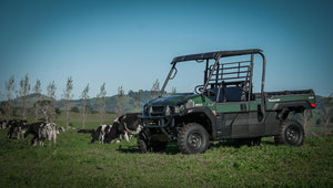 kawasaki mule kaf620 workhorse dairy winery farm lifestyle safety motorcycle