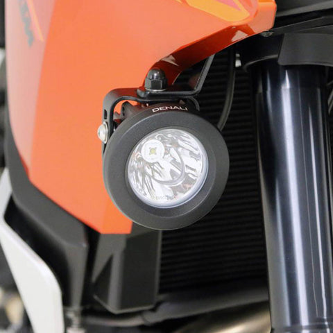 DENALI AUX LIGHT MOUNT BRKTS KTM 1190 ADV '14-