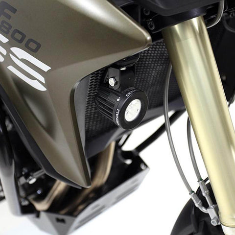 DENALI AUX LIGHT MOUNT BRKTS BMW F800GS & F800GS ADV '13-