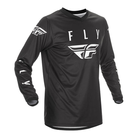 Fly 2021 Universal Youth Jersey - Black / White