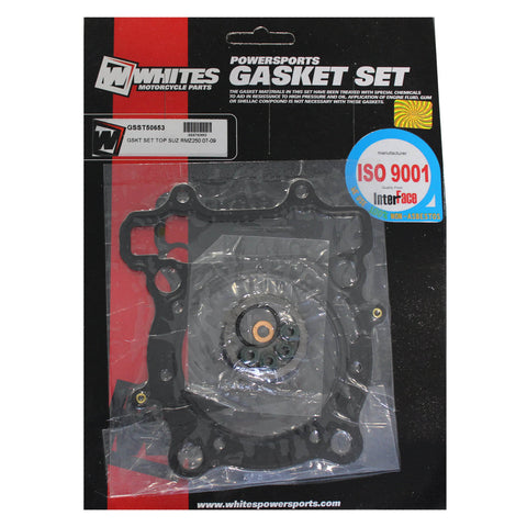 WHITES GASKET SET TOP SUZ RMZ250 07-09