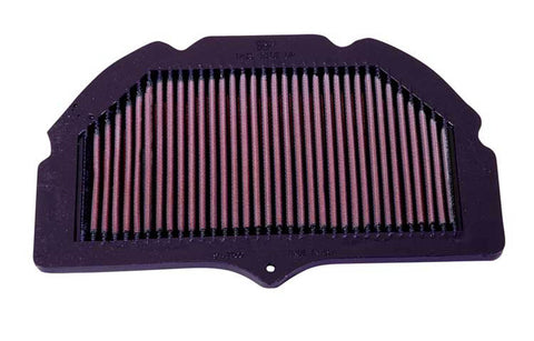 K&N REPLACEMENT AIR FILTER GSXR600/750 00-03 /GSXR1000 01-04