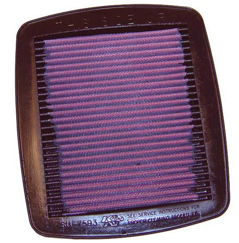 K&N REPLACEMENT AIR FILTER GSXR1100 93-98 /GSF600/1200 96-99
