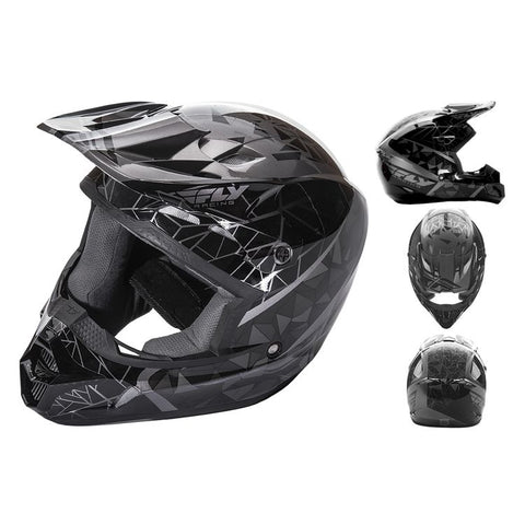 Fly Kinetic Crux Helmet Adult & Youth - Clearance