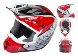 Fly Kinetic Crux Helmet Adult & Youth - Clearance - norjo