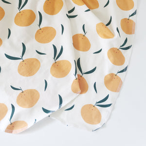 Swaddle Blanket - Oranges