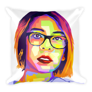 WPAP Square Pillow