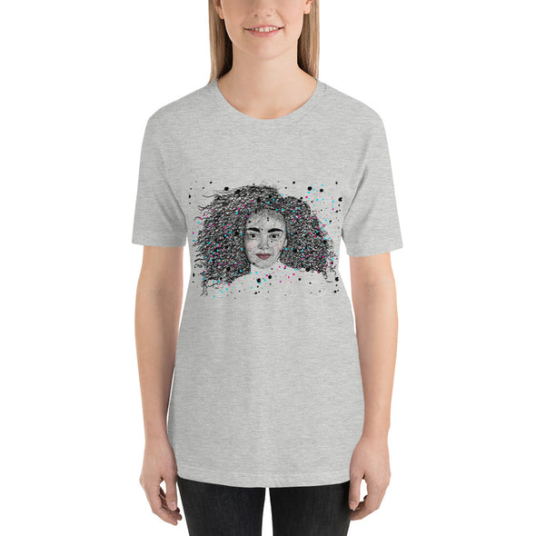 SCRIBBLE Short-Sleeve Unisex T-Shirt