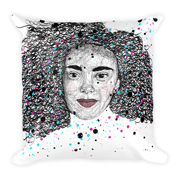 SCRIBBLE Square Pillow