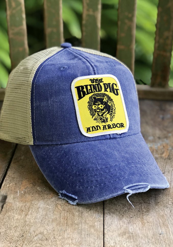 Blind Pig Patch Hat - Long Lost Vintage Tees & Retro Hats