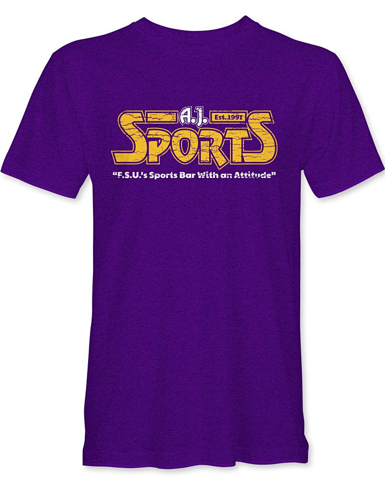 A.J.'s Sport Bar - Long Lost Tees