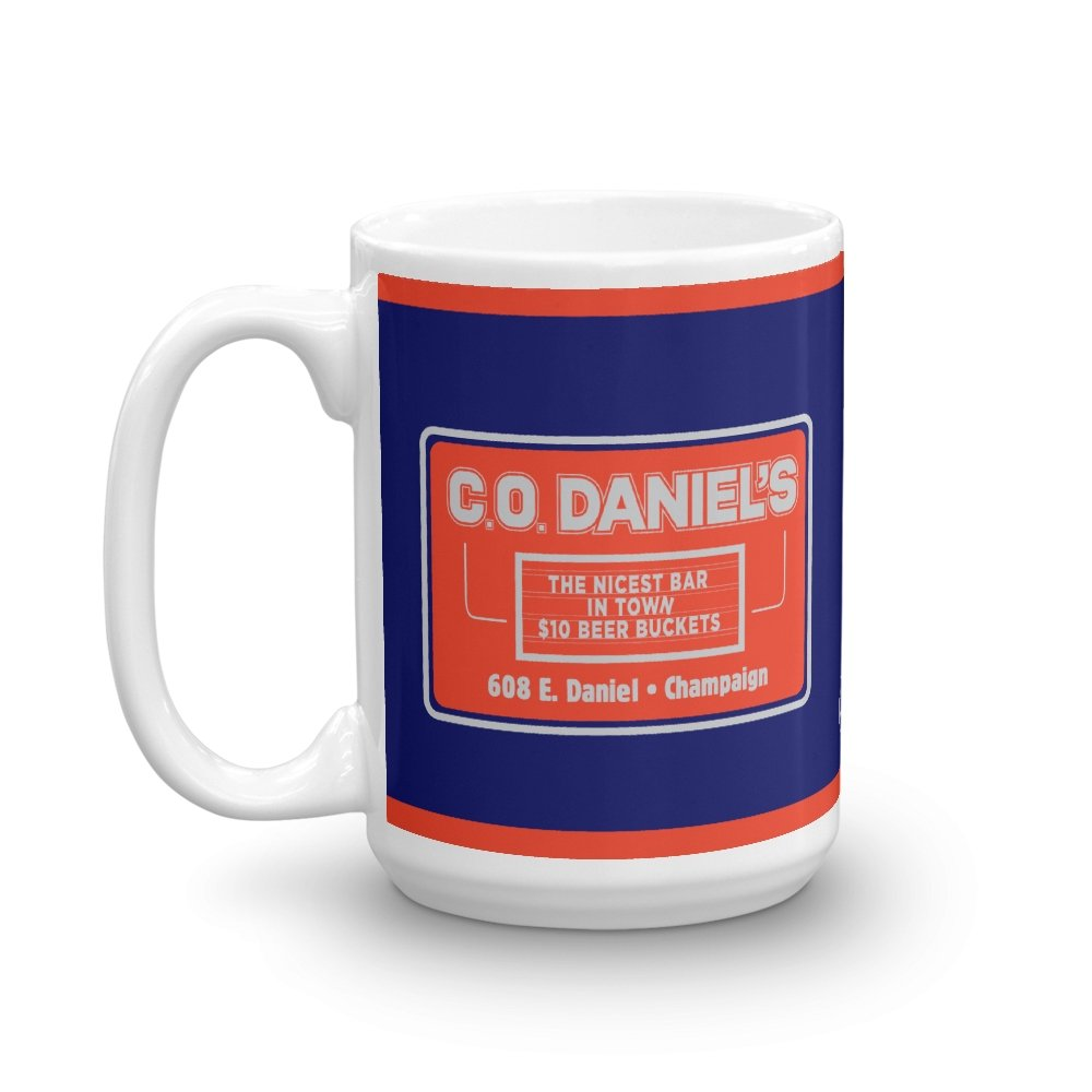 C.O. Daniel's 15 oz Mug - Long Lost Tees