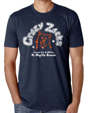 Crazy Zack's Myrtle Beach - Long Lost Tees