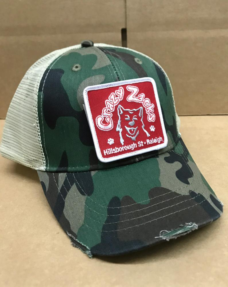 Crazy Zack's Patch Hat - Long Lost Tees