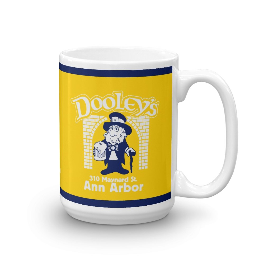 Dooley's Ann Arbor 15 oz. Mug - Long Lost Tees