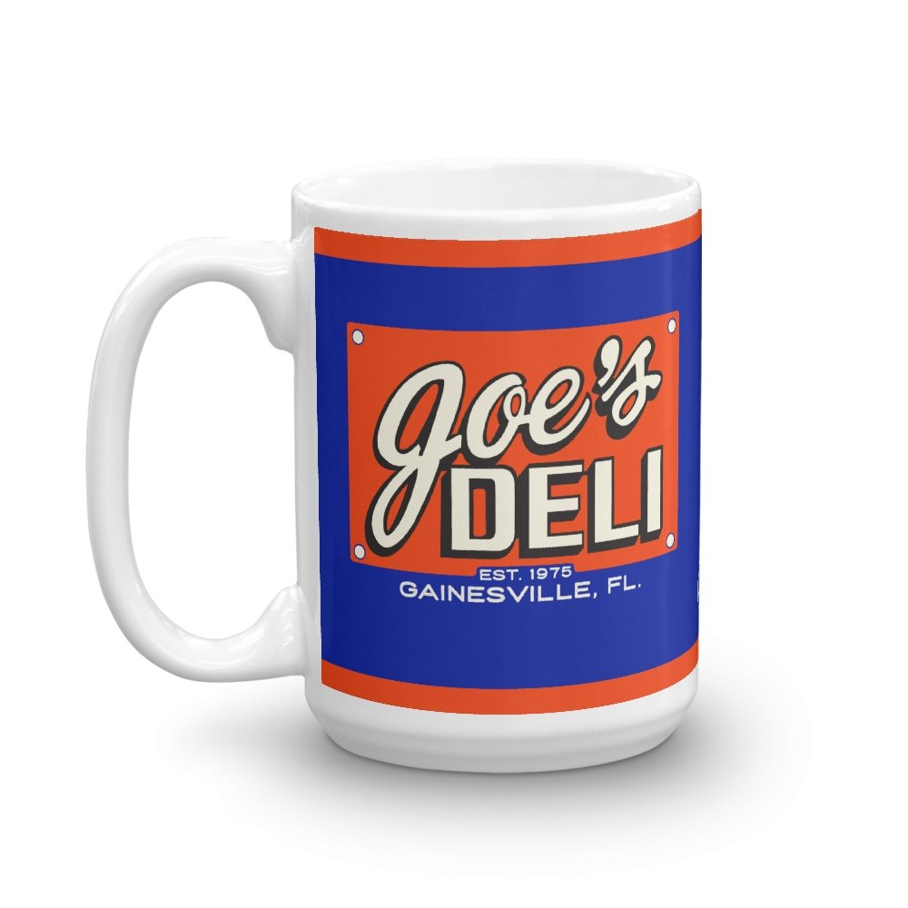 Joe's Deli 15 oz. Mug - Long Lost Tees