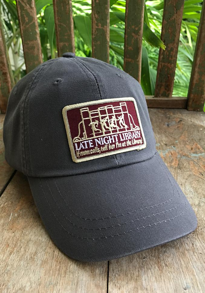 Late Night Library Patch Hat - Long Lost Tees