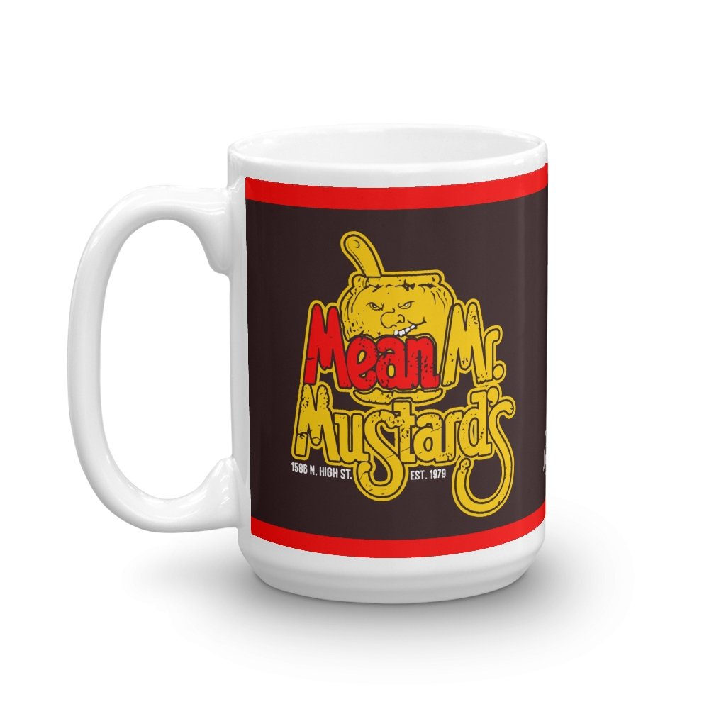Mean Mr. Mustard's 15 oz Mug - Long Lost Tees