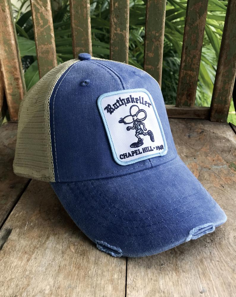 Ram's Head Rat Patch Hat - Long Lost Tees