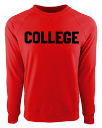 Red & Black College Gameday Jersey - Long Lost Tees