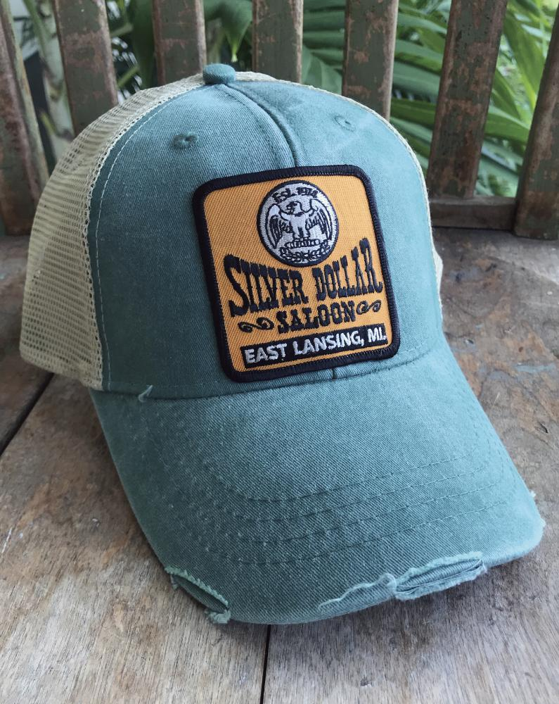 Silver Dollar Patch Hat - Long Lost Tees