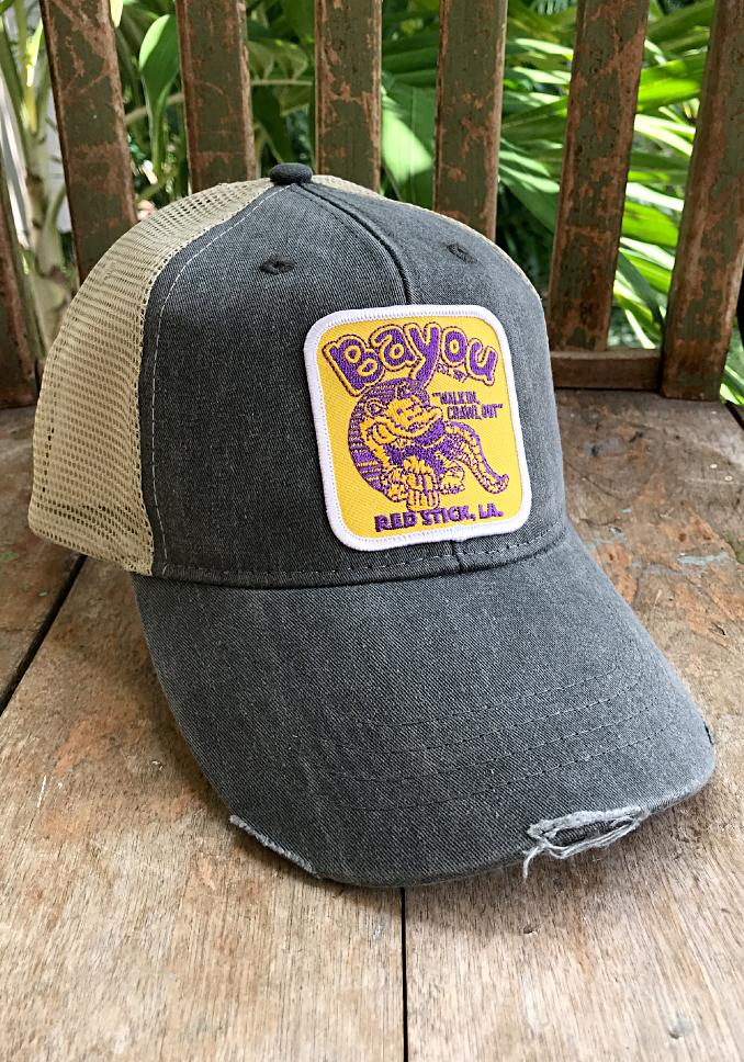 The Bayou Patch Hat - Long Lost Tees