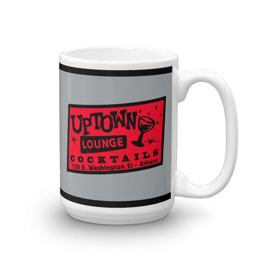Uptown Lounge 15 oz Mug - Long Lost Tees