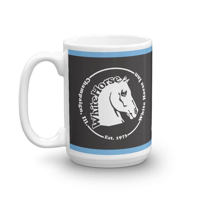White Horse 15 oz Mug - Long Lost Tees