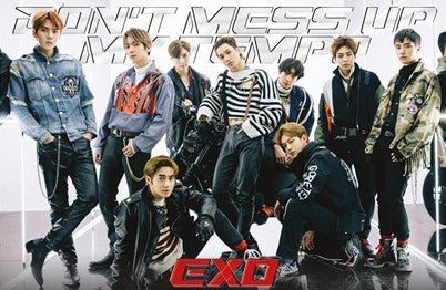 EXO – [Don't Mess Up My Tempo] Vivace Ver. Group Poster