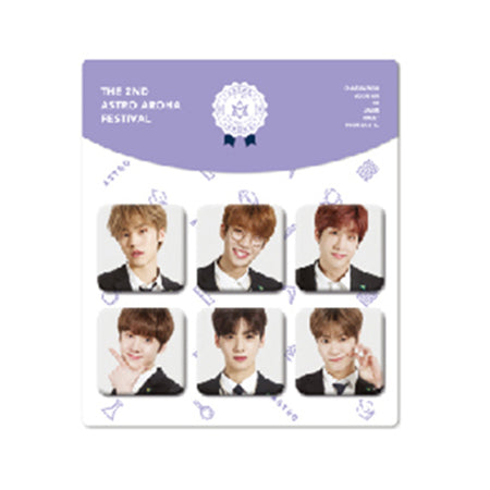 ASTRO – 2018 The 2nd AAF Goods : Pin Button Set (6pcs)
