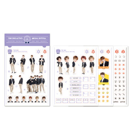 ASTRO – 2018 The 2nd AAF Goods : Sticker set (4pcs)