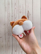 Load and play video in Gallery viewer, Corgi Butt Squeaky Plush