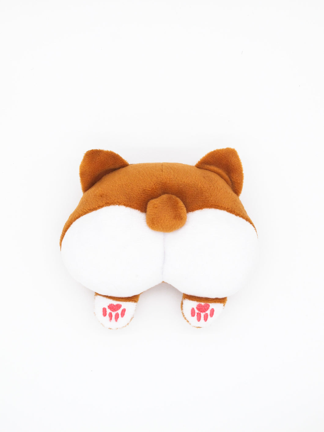 Corgi Butt Squeaky Plush
