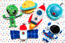 Load image into Gallery viewer, Space Exploration Squeaky Plush
