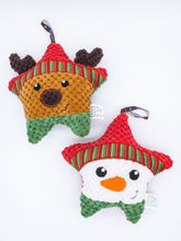 Load image into Gallery viewer, Xmas Star Ornament Squeaky Plush