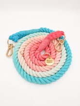 Load image into Gallery viewer, Multi-Way Ombré Cotton Rope Leash
