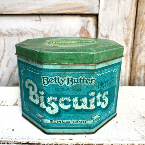 Betty Butter Biscuit Tin