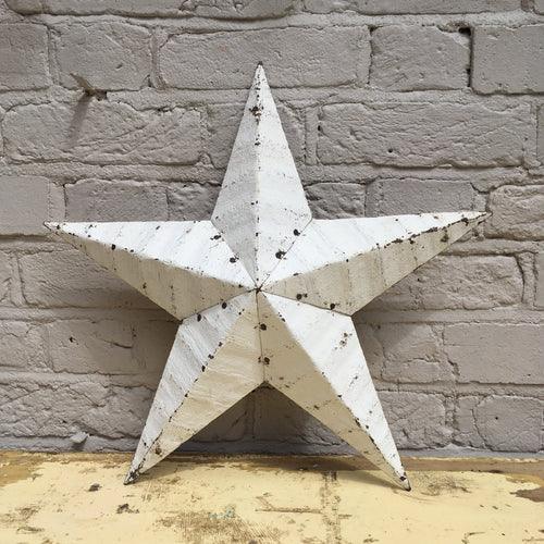 Medium White Original Barn Star
