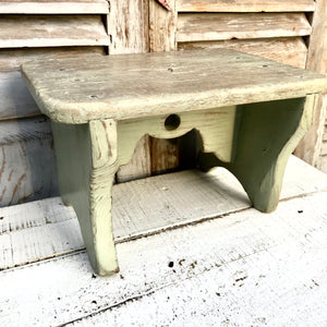Pretty French Stool (sold)