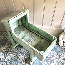 Vintage Handmade Toy Cradle (sold)