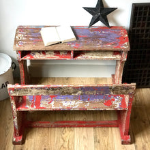 Vintage Teak School Desk (sold)
