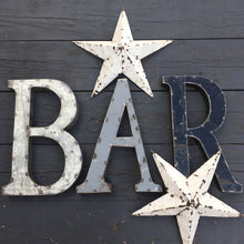 Recycled Metal Bar Sign (SOLD)
