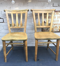 French Chapel Chairs (sold)