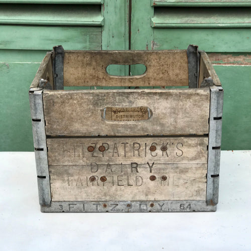 1950s American Dairy Crate