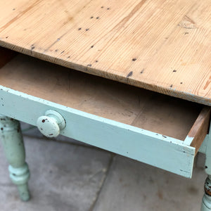 Early 20th Century Pine Kitchen Table