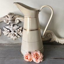 Vintage French Enamel Jug (sold)